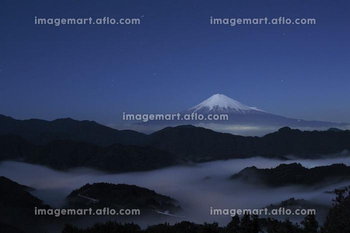 清水吉原の夜の富士山の販売画像