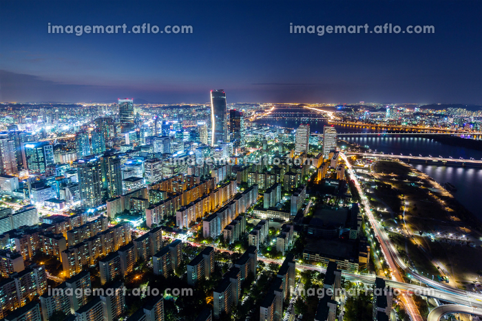 Seoul City and Downtown skylineの販売画像
