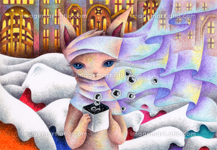 猫の妖精の販売画像