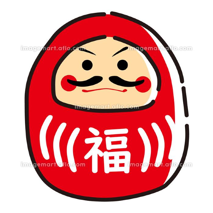 日本文化素材 / 縁起物達磨の販売画像