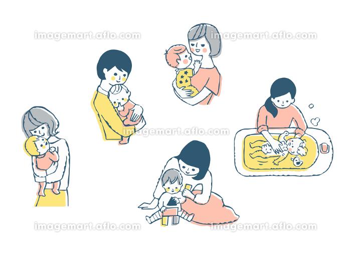 ママと赤ちゃん セットの販売画像