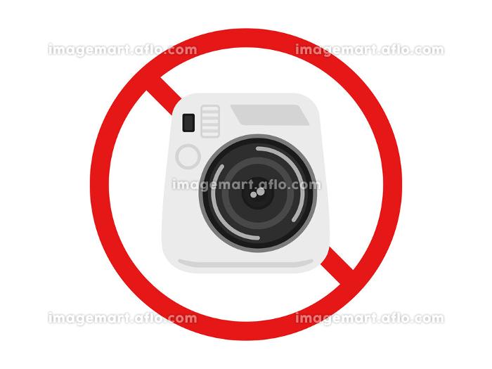 カメラ撮影禁止マークの販売画像