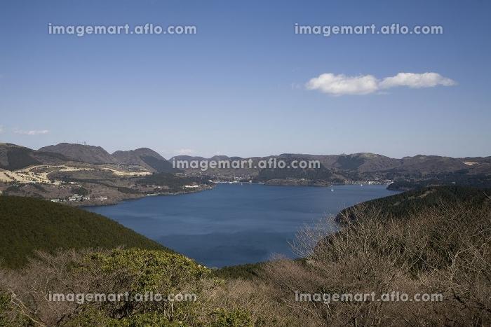 芦ノ湖スカイラインから芦ノ湖の販売画像