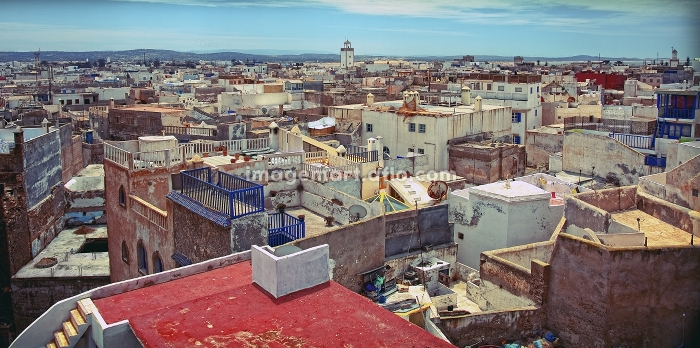 old arabic city Essaouira (Morocco) photoの販売画像