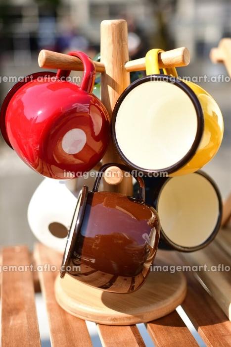 ホーローの食器の販売画像