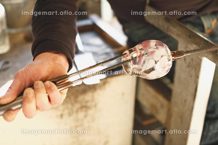 ガラス工房 吹きガラスの販売画像