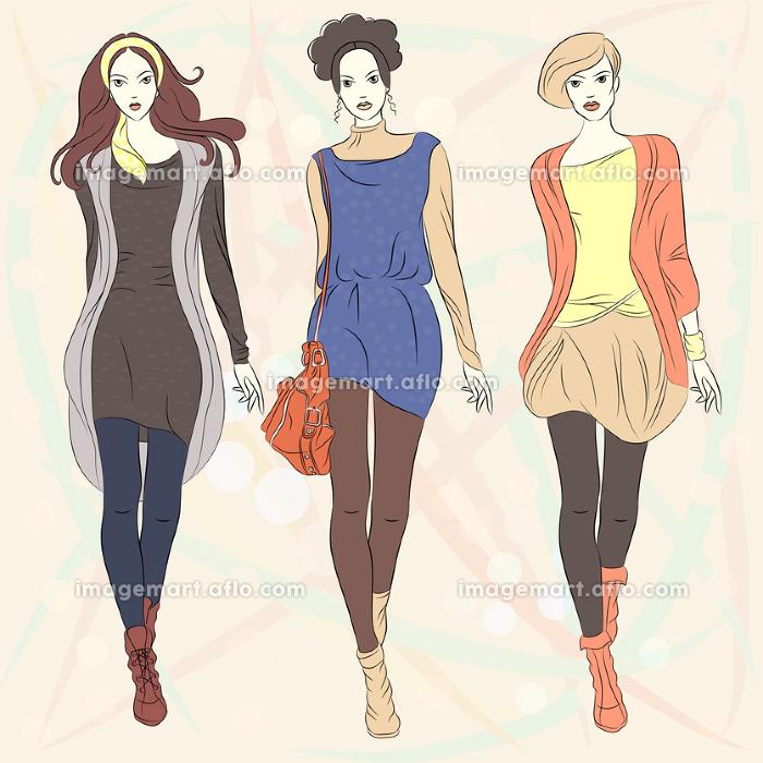 民俗 かわいい ファッションの販売画像