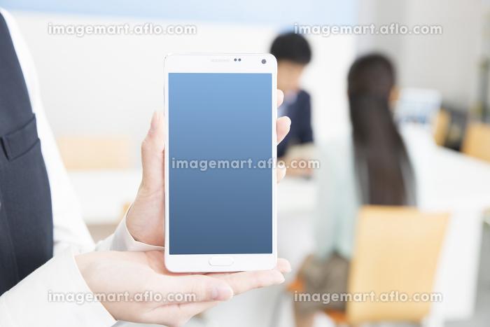 携帯ショップの販売画像