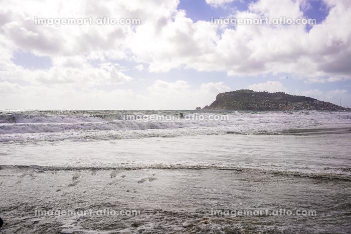 Beach of Alanya in Spring emptyの販売画像