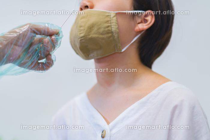 PCR検査・ウィルス検査のメディカルイメージ【ウィズコロナのニューノーマル】の販売画像