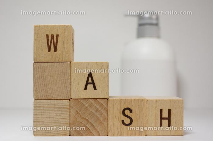 手洗いのイメージ素材の販売画像