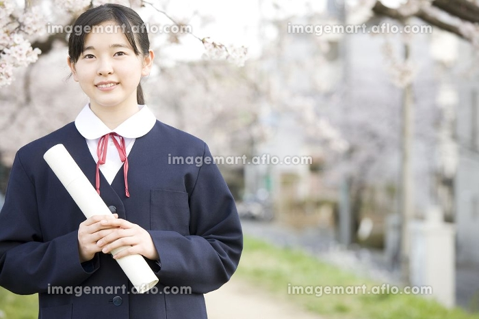 女子中学生の販売画像