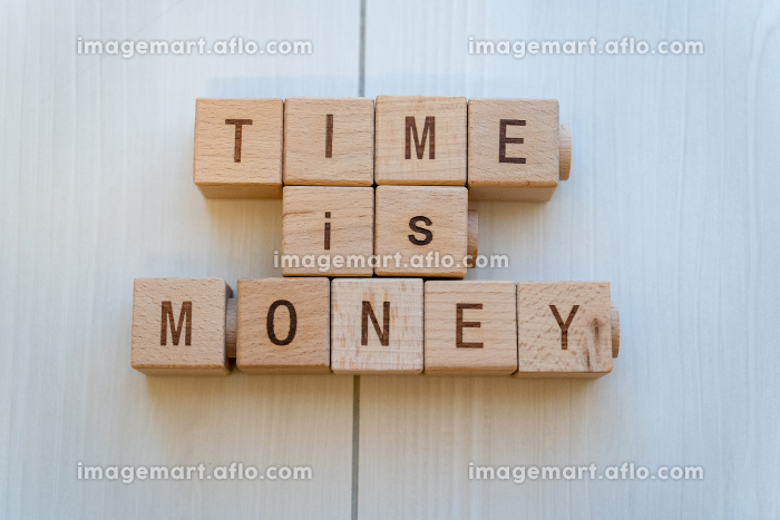 TIME IS MONEY 時は金なりの販売画像