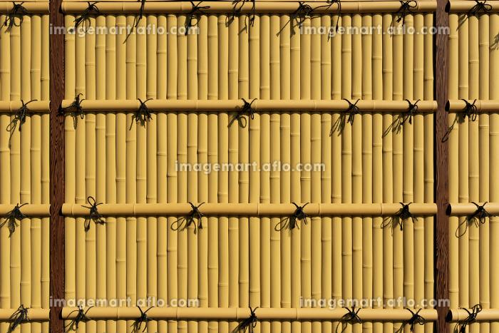 茶色の竹垣 3309cの販売画像
