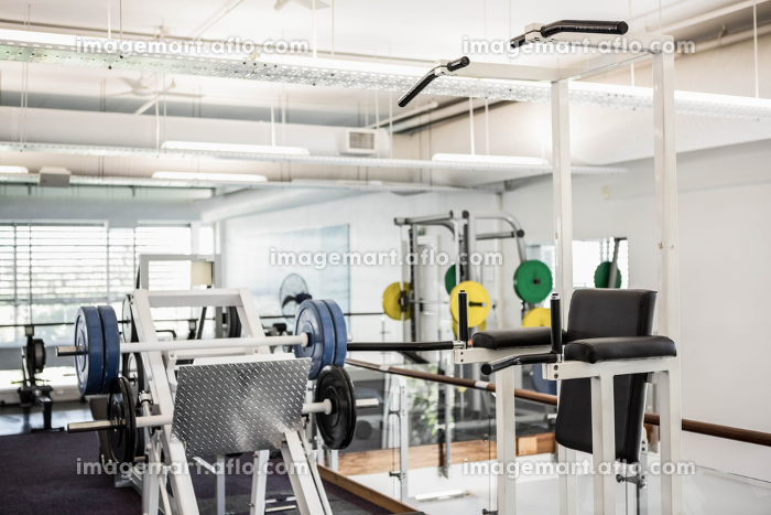 Gym with no peopleの販売画像