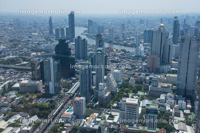 マハナコンからのバンコク市街