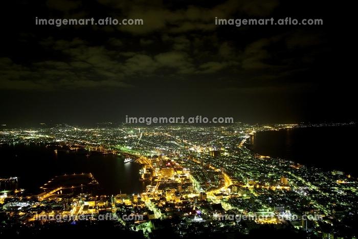 函館市 夜 夜空の販売画像