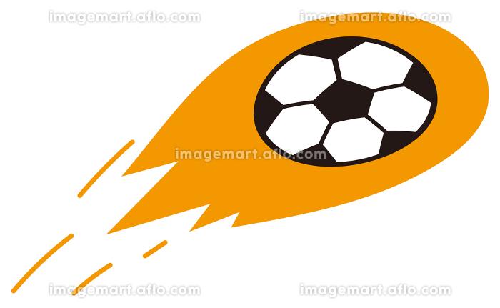 飛ぶサッカーボールの販売画像