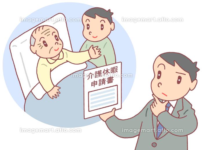 介護休暇申請の販売画像