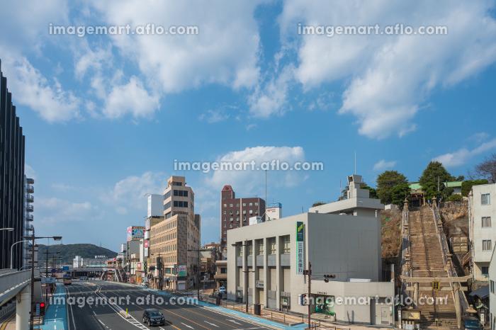 下関中心街の街並み(山口県)の販売画像