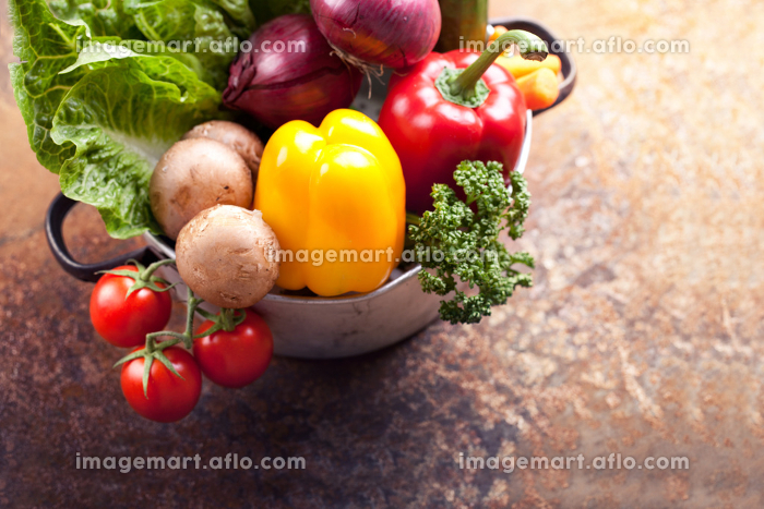 healthy vegetarian ingredients - vegetablesの販売画像