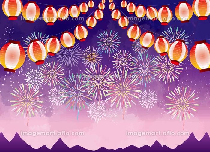 夏祭りと花火の販売画像