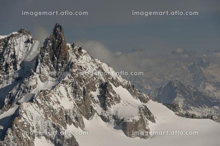エギーユ・デュ・ミディ 風景 ヨーロッパのアルプス山脈の販売画像
