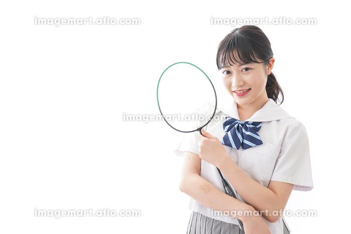 部活をする学生の販売画像