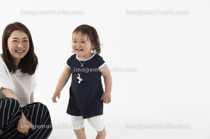 母子のポートレートの販売画像