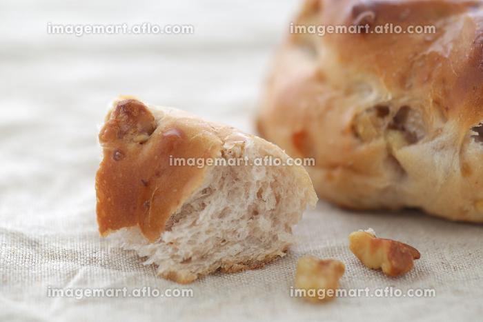 菓子パンや調理パンのクローズアップのイメージ写真の販売画像