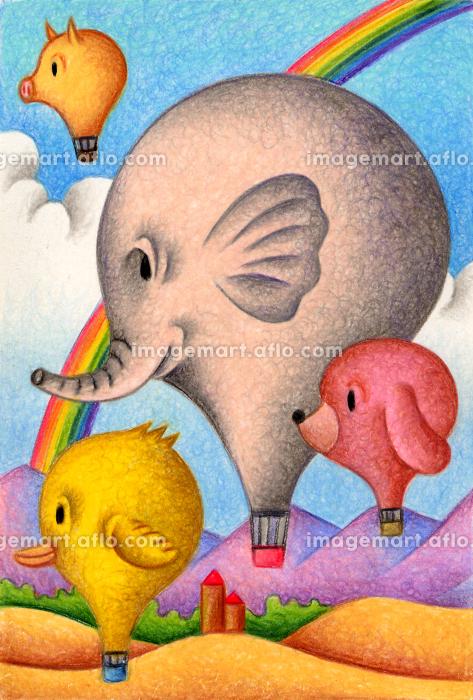 アニマル気球の販売画像