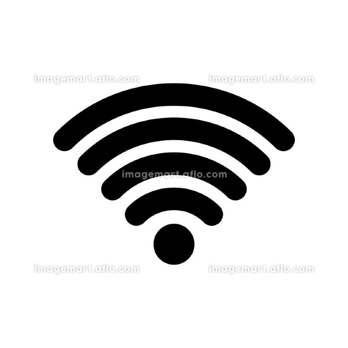 Wi-Fi ワイファイ アイコンの販売画像