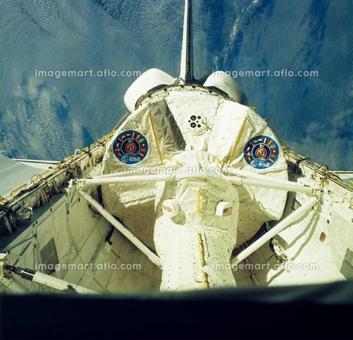 スペースシャトルの荷物置場