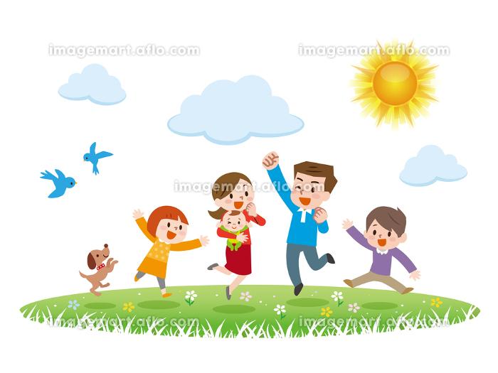 家族 ジャンプの販売画像