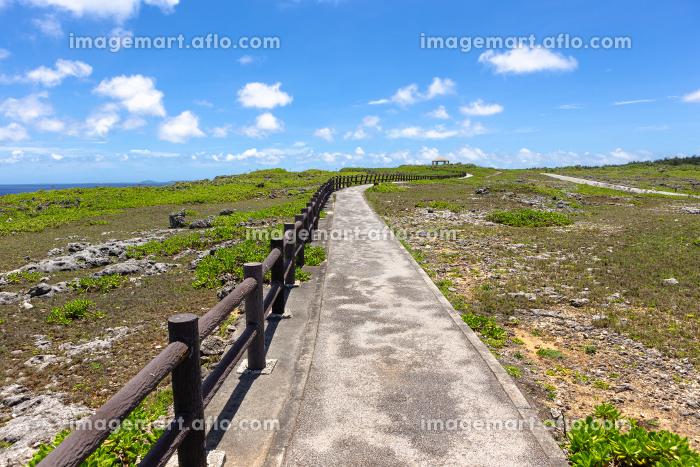 沖縄県宮古島、6月の風景・日本の販売画像