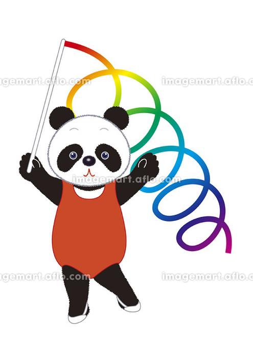 おもしろパンダ(新体操)の販売画像