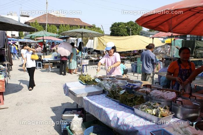 バンコクの青空市場