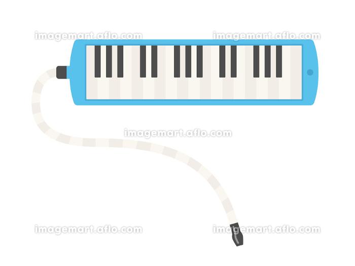 楽器のピアニカのイラストの販売画像