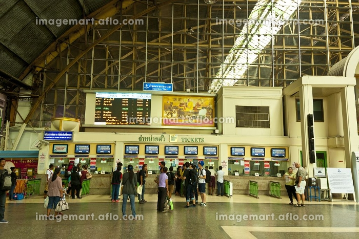 フアラムポーン駅舎(バンコク駅)