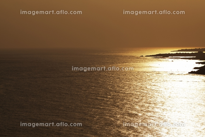 夕暮れの海 宮古島市の販売画像