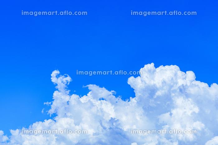 入道雲 積乱雲 夏【夕立が来る直前の空模様】の販売画像