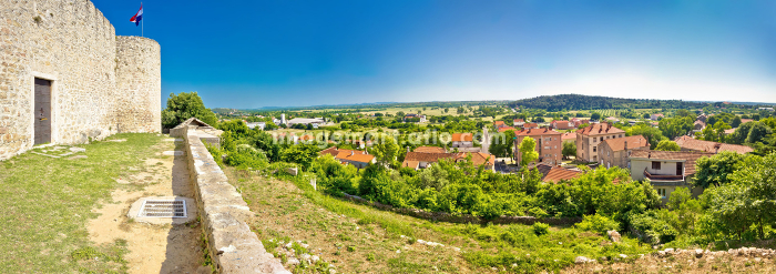 Panoramic view from Benkovac fortressの販売画像