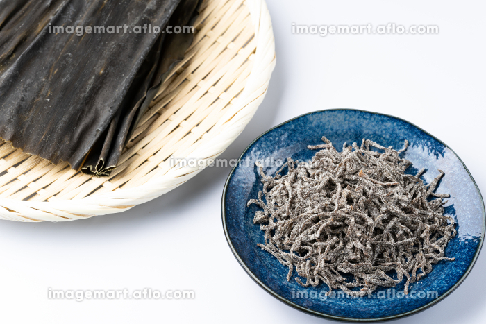 塩昆布と出汁昆布の販売画像