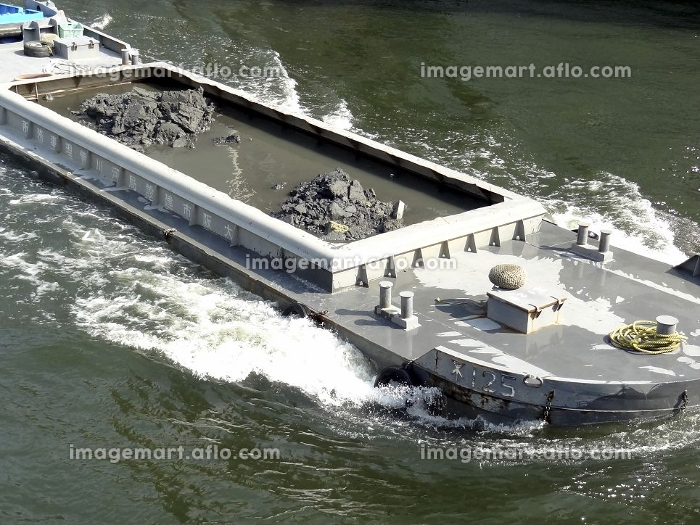 ヘドロ運搬船
