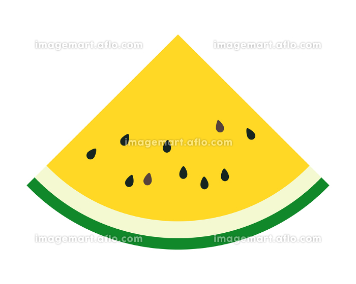 カットスイカ くし形 黄色の販売画像