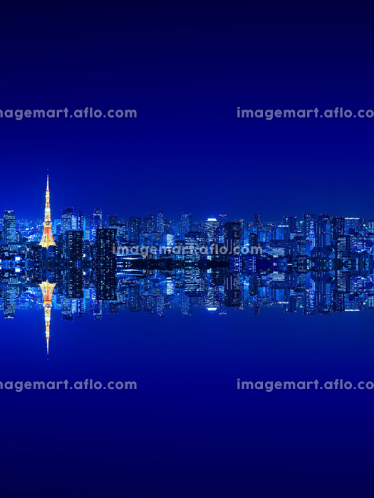 東京都 ビル群の販売画像
