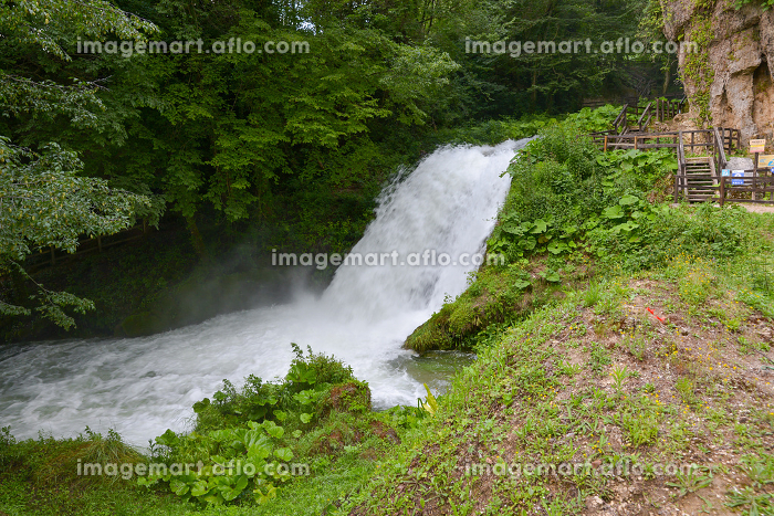 marmore waterfall lower part of the highest in the europeanの販売画像