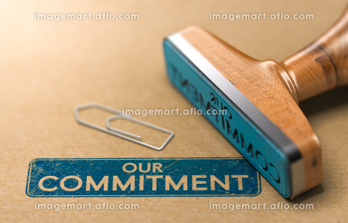 Our Commitment, Rubber Stamp Conceptの販売画像