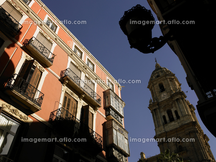 Spain Andalusia Malaga Old Town