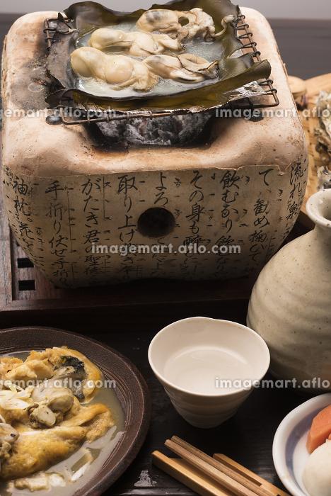 カキの昆布焼きの販売画像